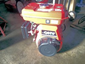 クボタ ガソリンエンジン GH170-1 6馬力 実働品 中古