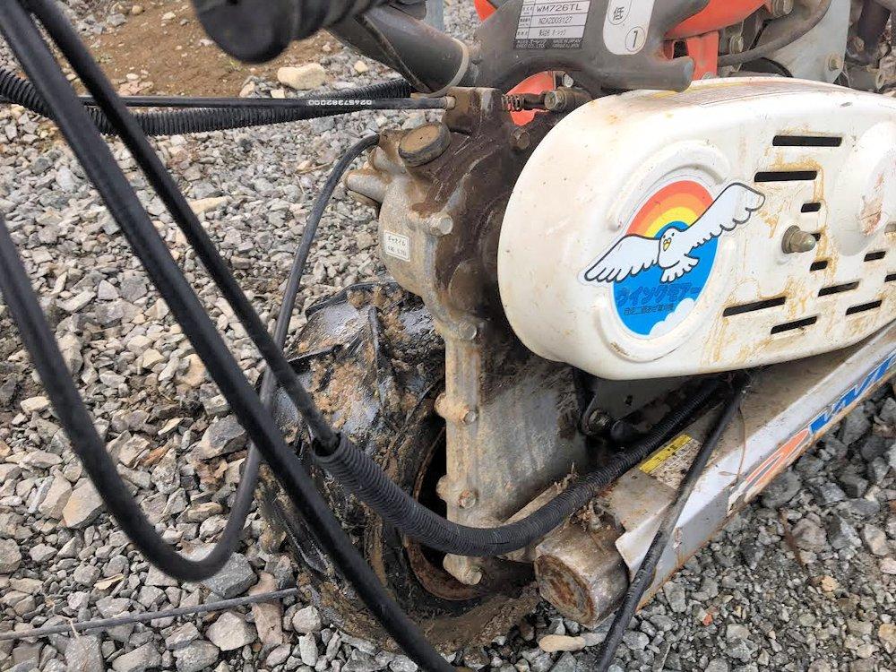 ウィングモア バック付 ミッションケース 2WD フレーム一式 部品取り 中古