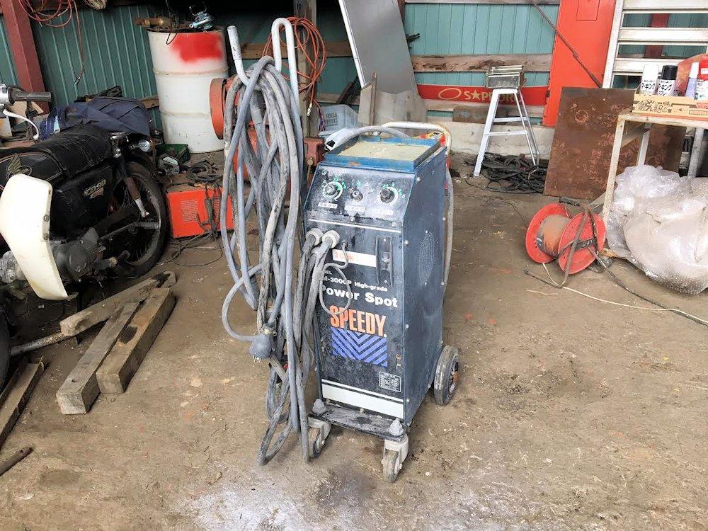 SPEEDY社 溶接機 MM-3000P 三相200V電源 現状中古