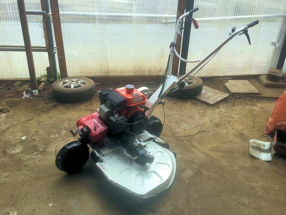 斎藤農機製 クボタ ロータリーモア 畦(あぜ)草刈機 二駆 MGC702D 整備済 実働品 美品 中古