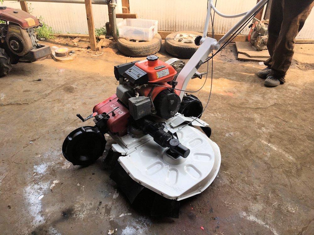クボタ 斎藤農機製 ロータリーモア 畦(あぜ)草刈機 二駆 SGC-702D 整備済 実働品 美品 中古