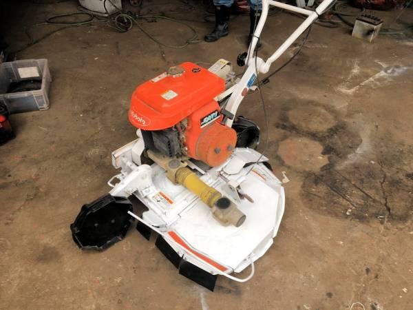 斎藤農機製 クボタ ロータリーモア 畦(あぜ)草刈機 二駆 SGC-601 整備済 実働品 中古