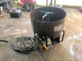 熊谷農機 ミキサー 攪拌機 混合機 肥料 モルタル コンクリートミキサー K-55 三相200V 美品 中古
