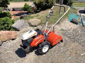 クボタ 管理機 耕運機 TR-6 GH170-TR 6.2馬力 正転・逆転 能率作業 デフロック付 タイヤ・耕運爪の状態良好 整備実働品