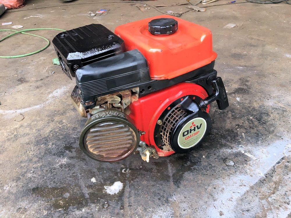 オーレック ウィングモア 草刈機用 4馬力 載せ替え用エンジン GM131P 実働品 中古