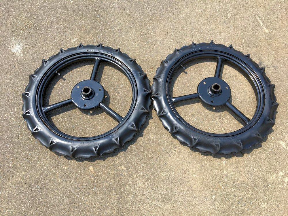 田植機車輪 前輪 六角軸 田植機 タイヤサイズ 2.50-17 美品 中古