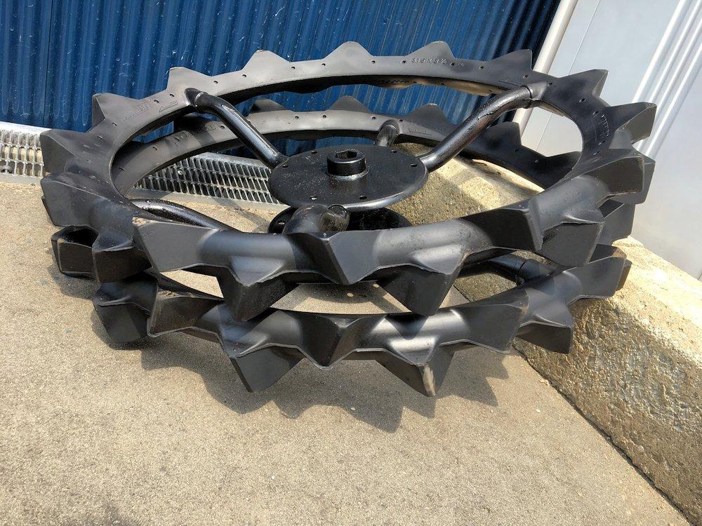 ヤンマー 田植機車輪 補助車輪 タイヤサイズ 31.5×3 1/2 美品 中古