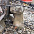 ウィングモア 草刈機 WM726 バックギア ミッション 2WD各部パーツ ハンドルセット 中古