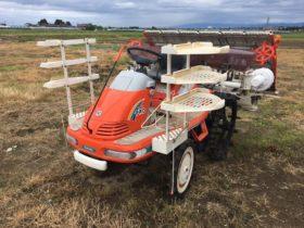 クボタ 田植機 中古 6条 施肥ペースト装置付 SPA65 モンロー付 ダブル車輪 558アワー 現状