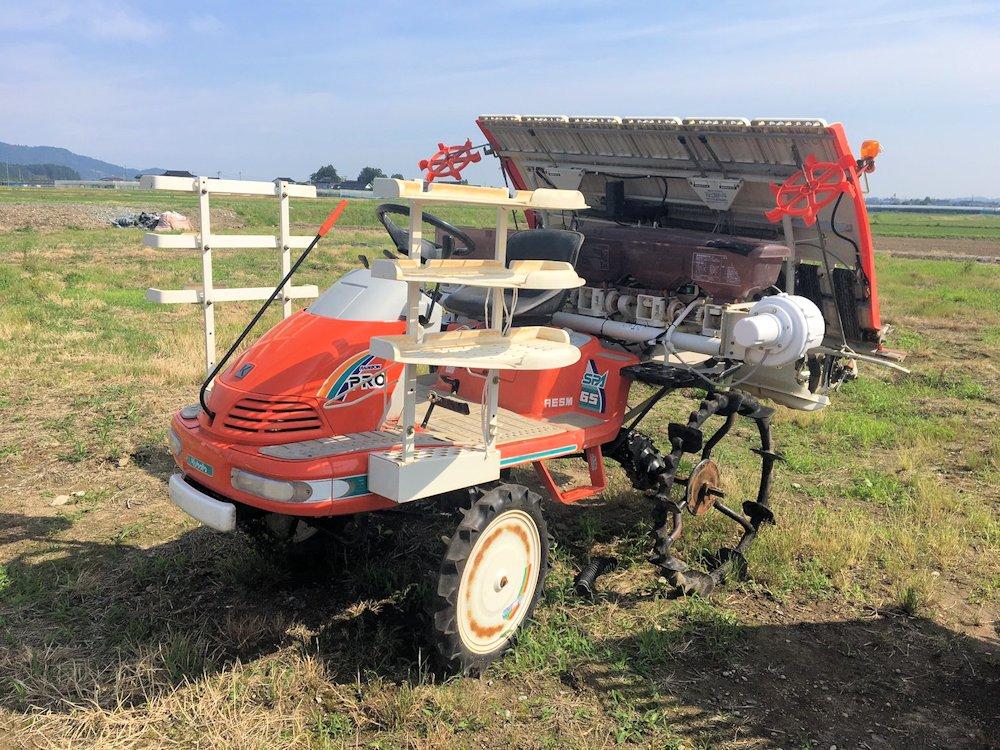 クボタ 田植機 SPA65 6条 558時間アワー 施肥機付 現状渡し 中古