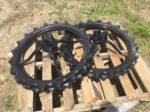 三菱田植機 補助車輪 中古 社外タイヤ ブリヂストン 3.00-25 820mm 丸軸