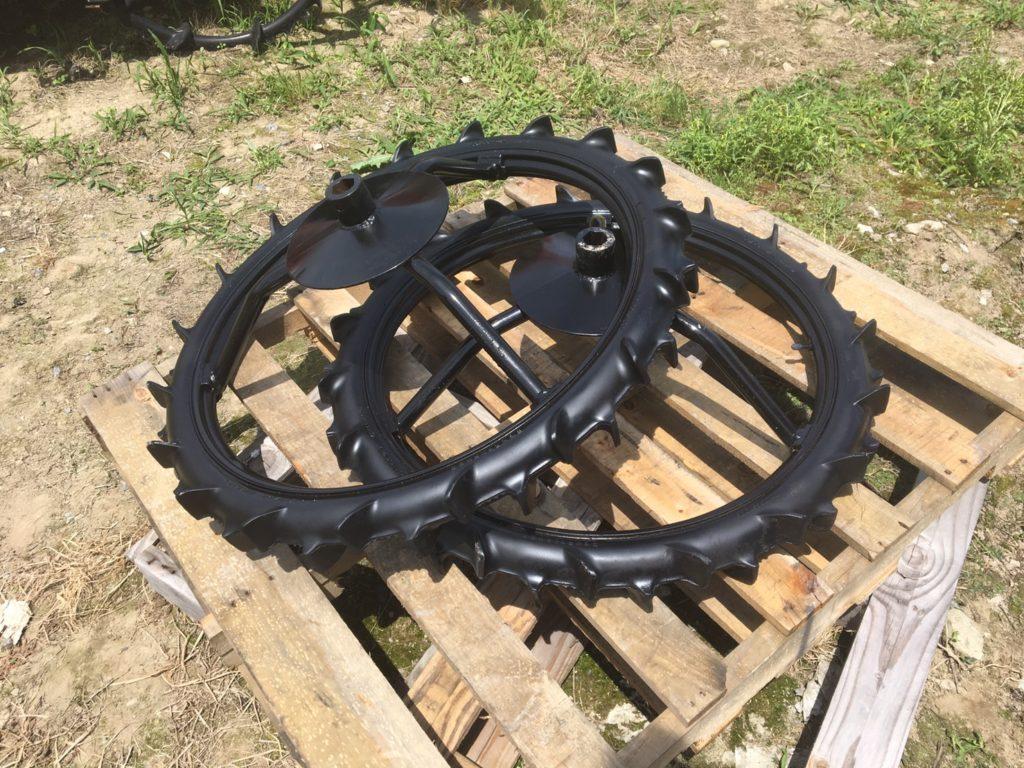 クボタ田植機 補助車輪 中古 社外タイヤ ブリヂストン 60/90-27AG 800mm 美品