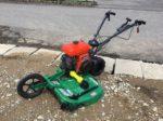 畦(あぜ)草刈機 中古 ウィングモア- オリジナル配色塗装 作業部エンジン 整備済 即使用可能