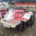 田植機 中古 ヤンマー 6条 RR650 マイコンジャイロUFO(自動水平モンロー付) 極上 補助 後輪 前輪付 実働品