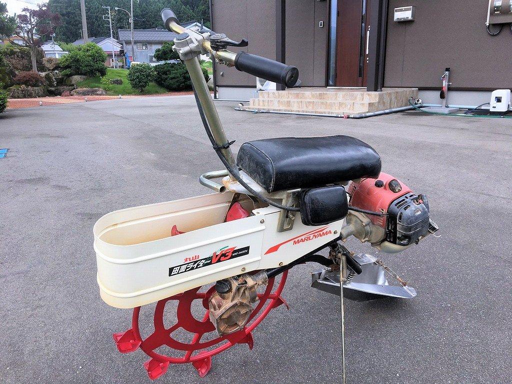 乗用 溝切機 中古 丸山 田面ライダーV3 MKF-A450V 美品 程度良好