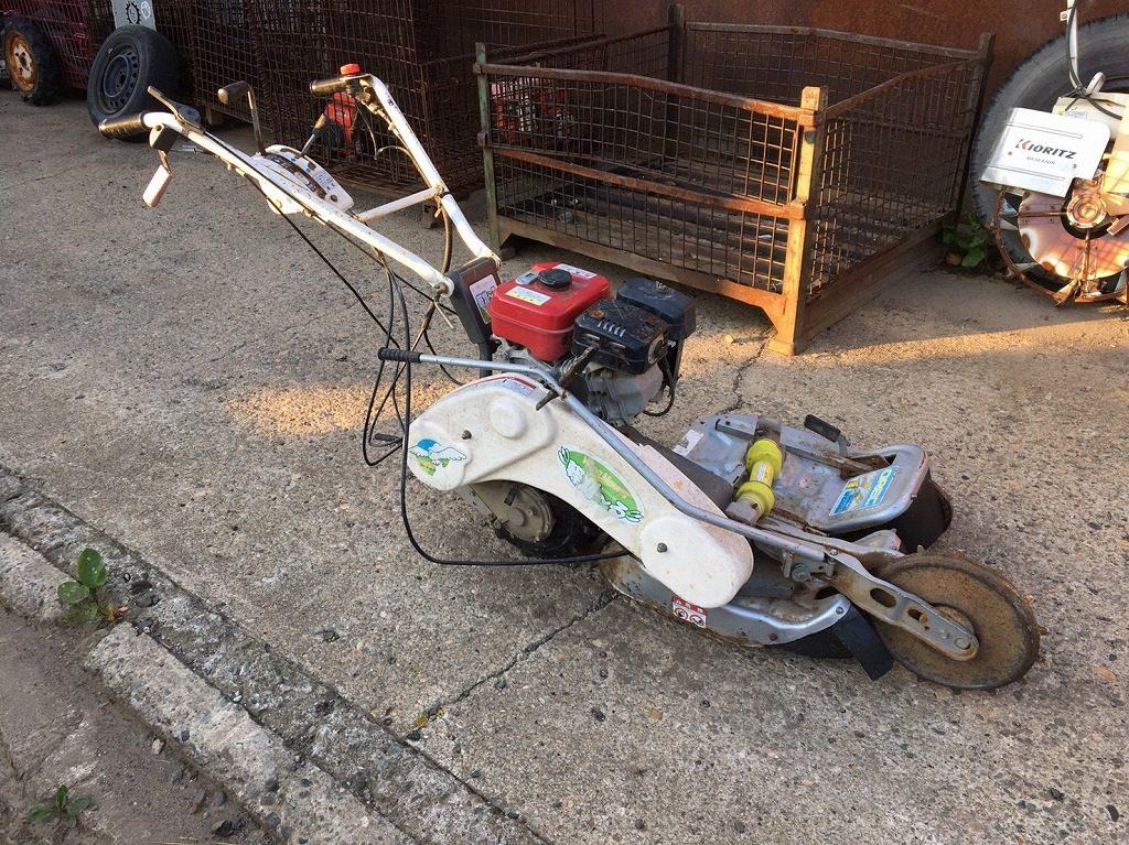 オーレック ウィングモア 畦(あぜ) 草刈機 WM624A 4.5馬力 2駆 バック付 整備済 実働品 中古