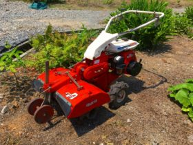 管理機・耕耘機 中古 クボタ ドラムローター 中耕作業 フロントエース GS200-TE 5.2馬力 整備済 実働品