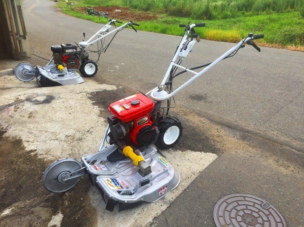 草刈機 中古 オーレック WM606D ロビンエンジンVER 6馬力 実働品 整備済
