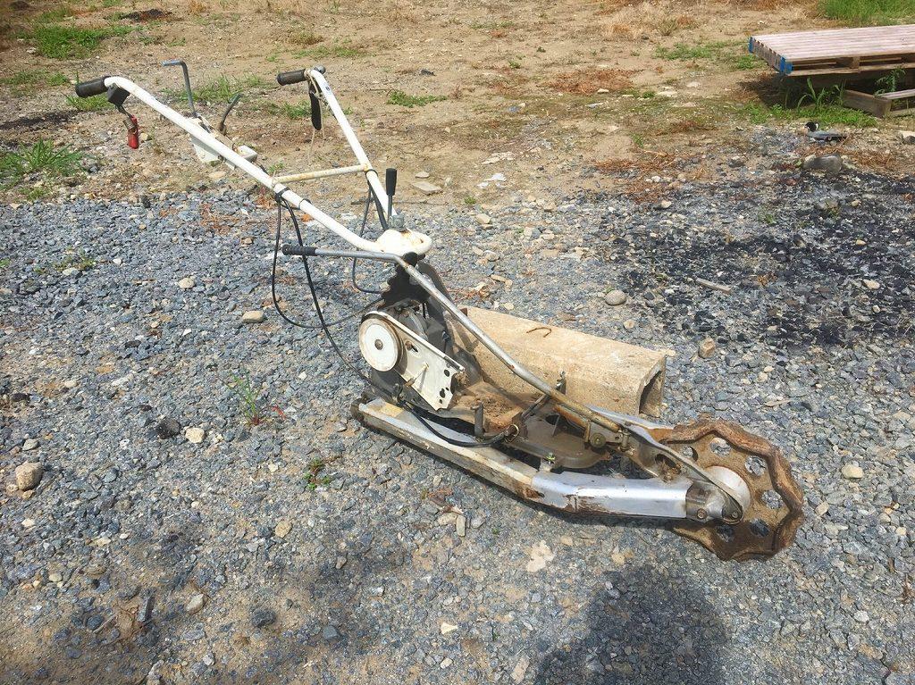 ウィングモア 草刈機 WM726TL バックギア ミッション 2WD各部パーツ ハンドルセット 中古