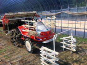 クボタ 田植機 6条 稼働148時間極上 SPA6 モンロー付(自動水平) 人気のマーカー 苗のせキット付属 ダブル車輪