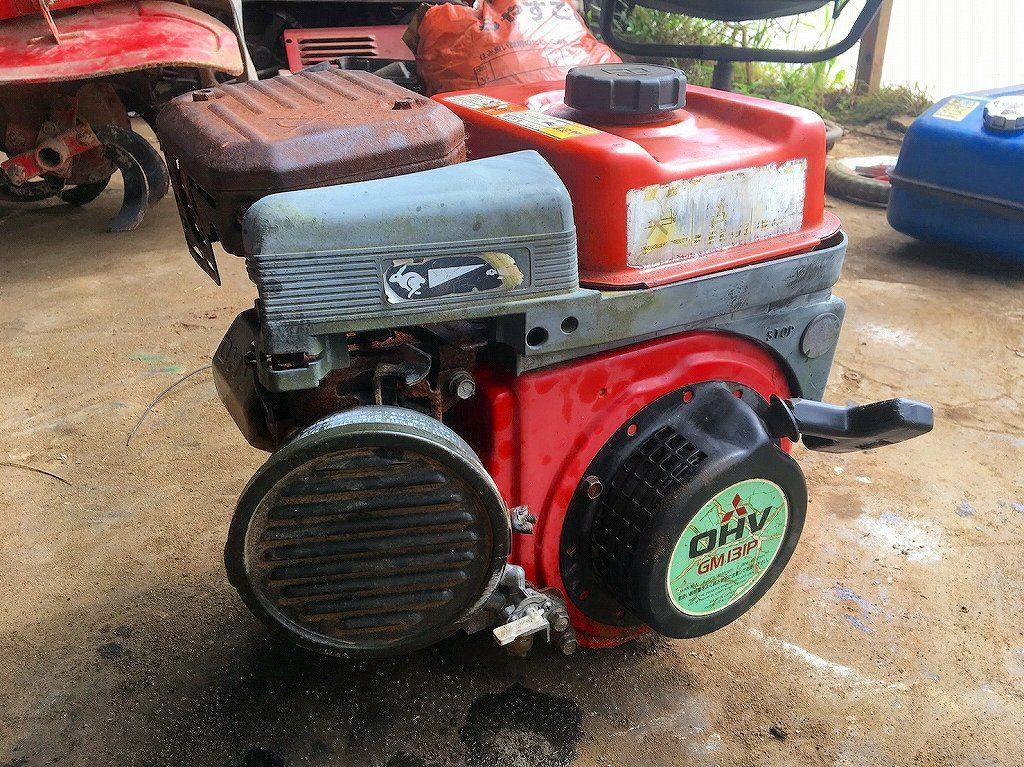 ウィングモア用 三菱エンジン 中古 GM131P 4馬力 エンジンオイル交換済 キャブレターオーバーホール済 実働品