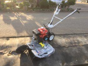 畦草刈機 中古 二面 ウィングモア WM606E 6.1馬力 刃新品 整備済