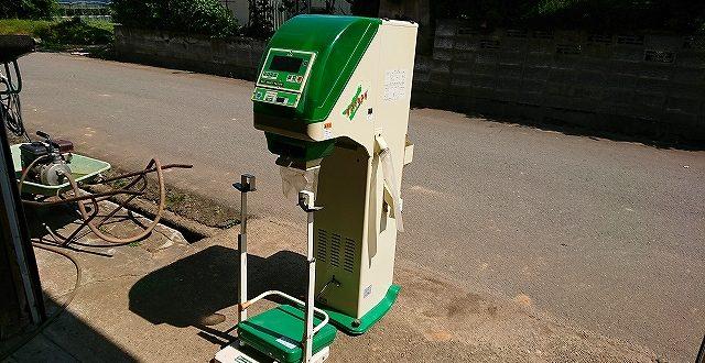 選別計量機 中古 サタケ ネオグレードパッカー NPA32V 網1.90 インバーター付袋キーパー セット 離農品