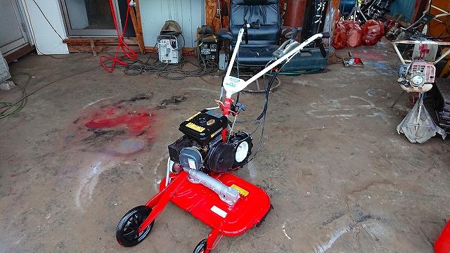 畦(あぜ)草刈機 中古 ウィングモア WM60 オーレック 整備塗装済 中古 刈幅30cm 3馬力 とても軽い 軽量モデル人気