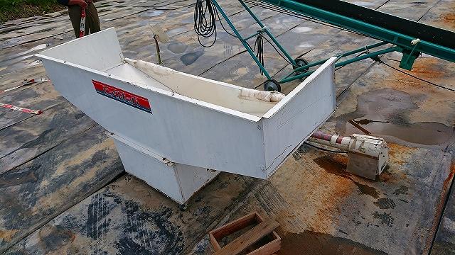 籾搬送機 中古 バネコン 石井製作所 B-5 ビッグホッパー 200V 現状 実働 離農品