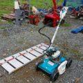 法面・斜面草刈機 4WD 斎藤農機製 現行型 カルマックス 6C-K501EX アルミブリッジ付 極上美品 離農品 中古