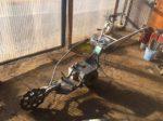 ウィングモア 草刈機 現行型 WM736 二駆 バックギア バック付 ミッション フレーム ハンドル セット 中古