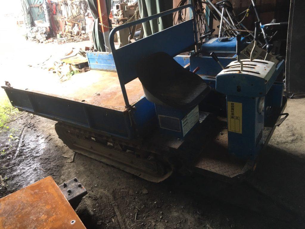 運搬車 油圧ダンプ 中古 クローラ運搬車 キャリアダンプ トレーラ シコク X61-RD 現状