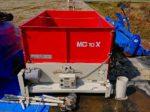 BIZEN トラックダンプ 穀類搬送システム マイキューブ グレンコンテナ 籾コンテナ 穀類運搬 MC10X-2C 備前 美善 キャスター付 離農品 中古