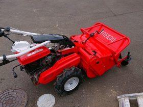 ハンマーナイフモアー 草刈機 中古 FRE600 シバウラ 注文を受けて整備 修理 塗装の後に納品
