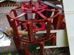 トラクター用 ダイヤホイール (かご車輪) 湿田使用 アタッチメント付 中古