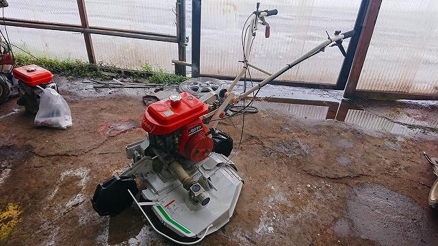 斎藤農機 クボタ 自走式 二面畦(あぜ)草刈機 GC601 6馬力 中古 整備済 2WD 二輪駆動 ロータリーモーア