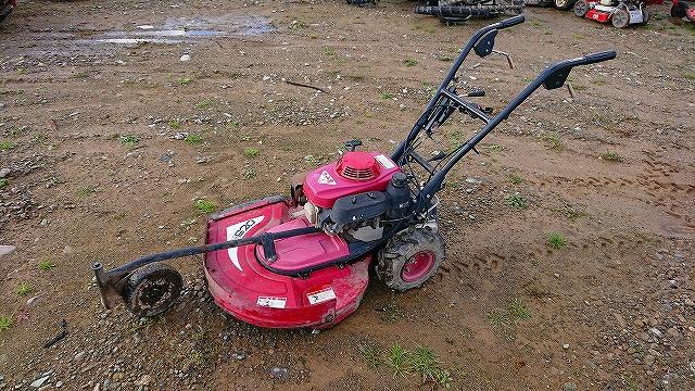 ホンダ ロータリーモア 自走式草刈機 カール君 VM620 4.4馬力 実働 整備 中古