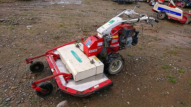 オーレック BX80 草刈機 雑草 牧草 平地 バーディー ロータリーモアー M120B 10馬力 実働品 現状 中古