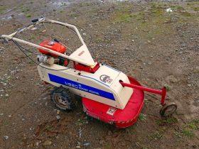 ワドー (和同)草刈機 M620 刈幅60cm ロータリーモア 5.8馬力 クボタエンジン GS230-2GT 整備済 中古