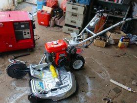 自走二面畦草刈機 オーレック ウィングモアー WM706 刈幅70cm 新品オリジナルブレード付 整備品 中古