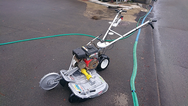 あぜ草刈機 OREC ウィングモアー WM606D 刈幅60cm 新品オリジナルブレード付 整備品 中古