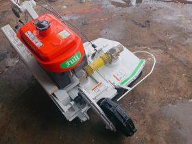 丸山 自走式二面畦(あぜ)草刈機 MGC601 6馬力 中古 整備済 2WD 二輪駆動 ロータリーモーア