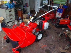 シバウラ FRE601 ハンマーナイフモア 草刈機 中古 整備点検&塗装済 新品ナイフ付
