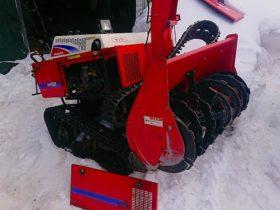 ヤンマー 除雪機 YSRA1020 L100ASEWW1 10馬力 HST変速 油圧上下左右 電動シューター 難あり ジャンク 現状