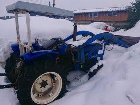 イセキ トラクター TS2510 中古 4WD 四駆 フロンドローダー付 除雪 土砂 クレーン ロータリー無し 現状 635H