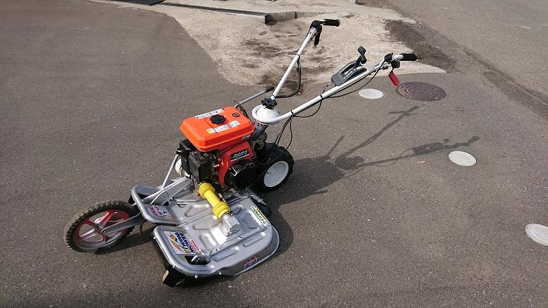 法面 畦草刈機 中古 ウィングモアWM606A 整備済 刃新品 6馬力