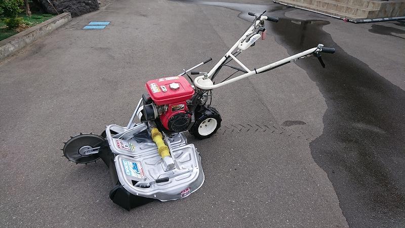 ウィングモア 草刈機 オーレック WM706 整備 美品 中古 ロビン EH17 6馬力