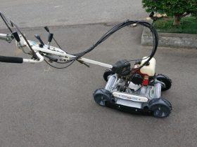 オーレック 法面草刈機 スパイダーモア SP850A 4WD 整備 塗装済 中古 兵庫へ
