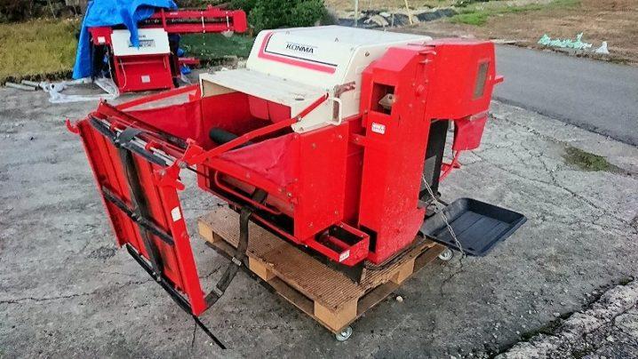 トラクター用 PTO 大豆脱粒機 豆脱穀機 ビーンスレッシャー コンマ SD-B600 離農 実働 中古
