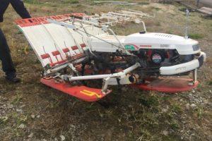 ヤンマー 自走歩行型 田植機 UFO 自動水平付 4条植え AP400 スーパーシフト 実働離農品 中古